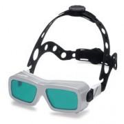 Support de tête pour lunettes de soudage laser